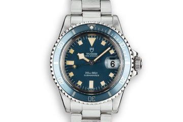 1976 Tudor Snowflake Submariner 7411/0 photo
