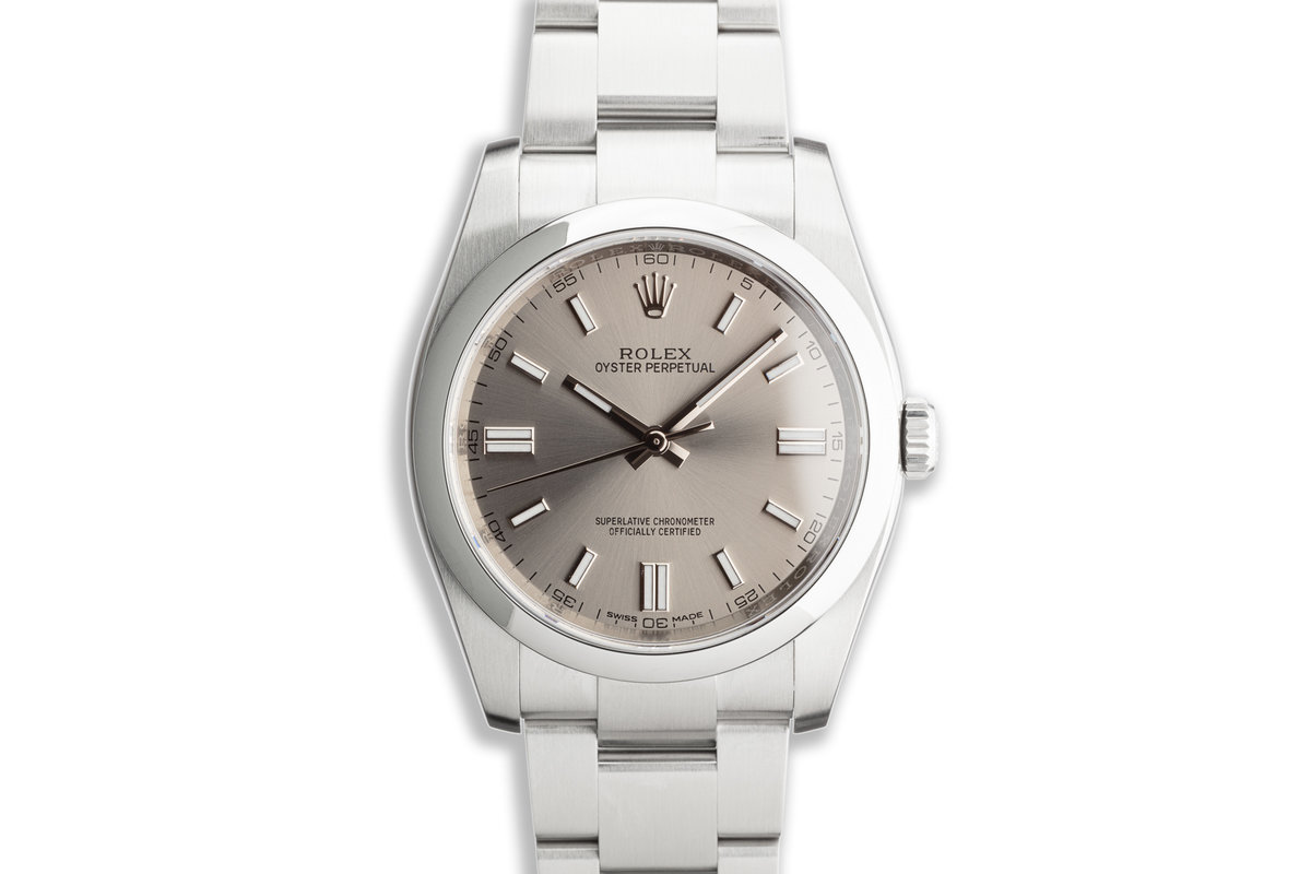 2019 Rolex Oyster Perpetual 116000 with Box and Card photo, #0