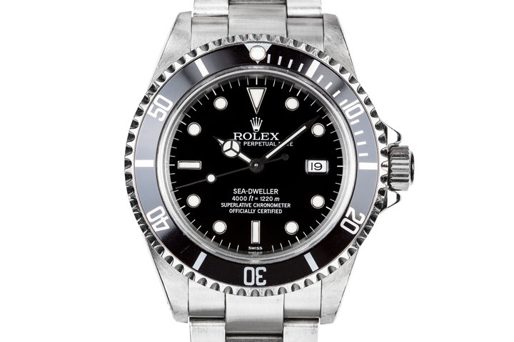 """1999 Rolex Sea-Dweller 16600 with """"SWISS"""" Only Dial photo"""