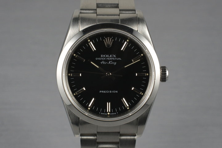 1991 Rolex Air-King 14000 with Box and Papers photo