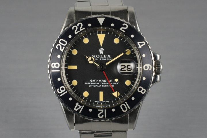 1971 Rolex GMT 1675 photo