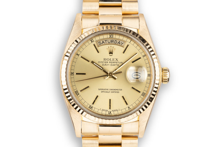 1978 Rolex Day-Date 18038 Champagne Dial photo