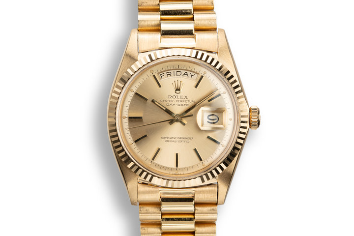 1967 Rolex 18K YG Day-Date 1803 photo