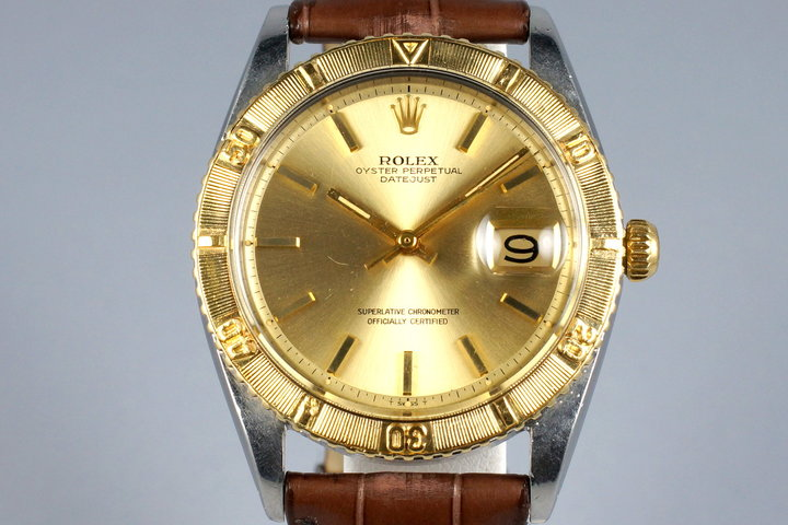 1968 Rolex Two Tone DateJust Thunderbird 1625 photo