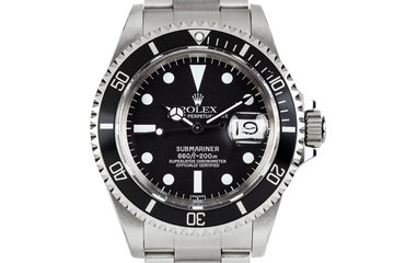 Rolex Submariner 1680 with Service Dial and Service Case photo