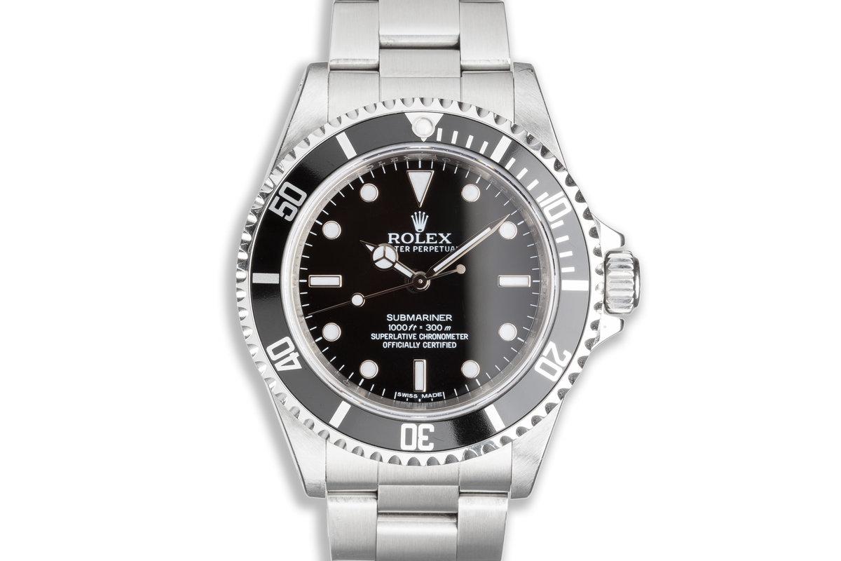 2010 Rolex Four Line Submariner 14060M photo, #0