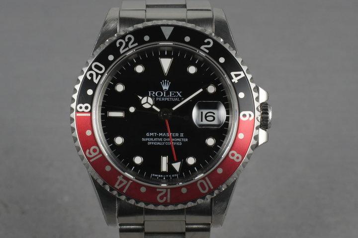 1995 Rolex GMT 16710  with Coke  Bezel photo