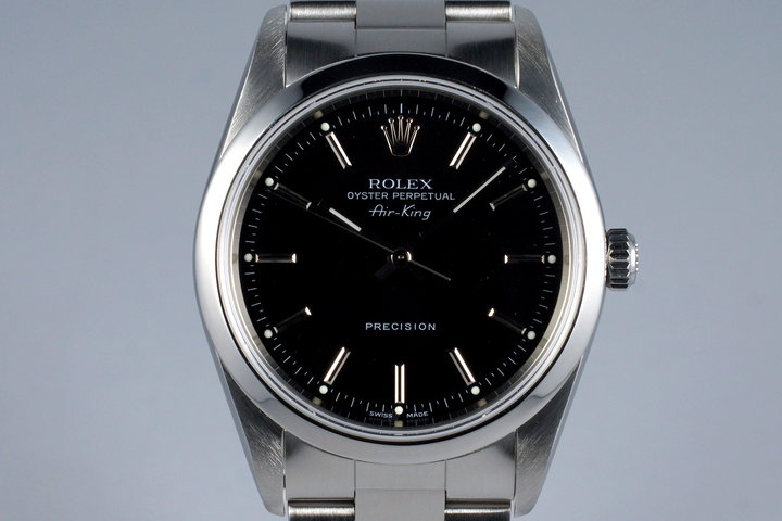 2006 Rolex Air-King 14000M Black Dial photo