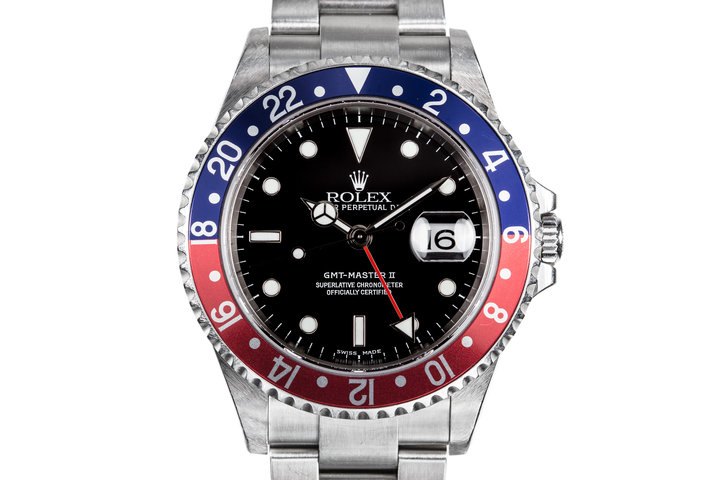 "2003 Rolex GMT-Master II 16710 ""Pepsi"" photo"