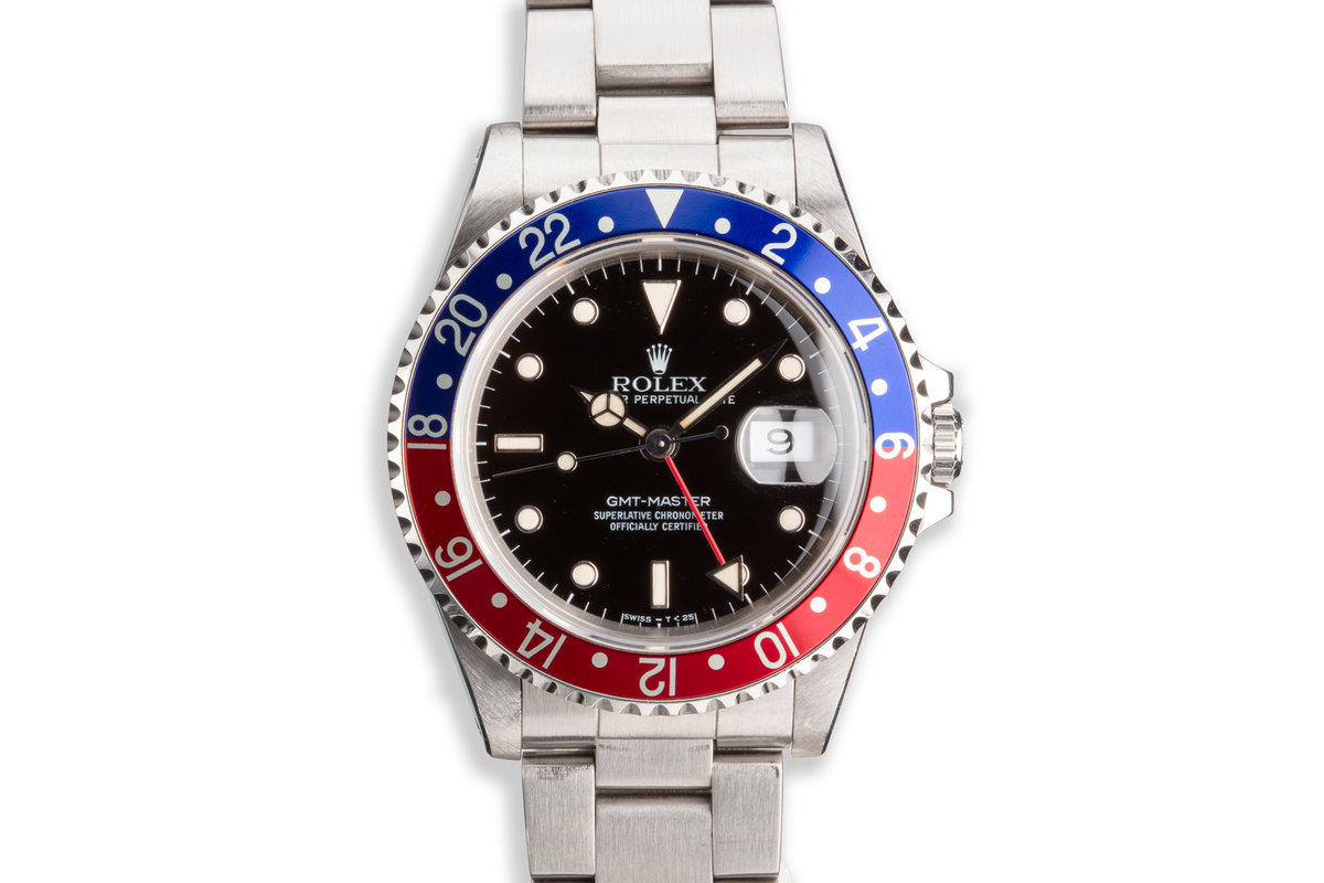 """1989 Rolex GMT-Master 16700 """"Pepsi"""" Box and Booklet photo, #0"""