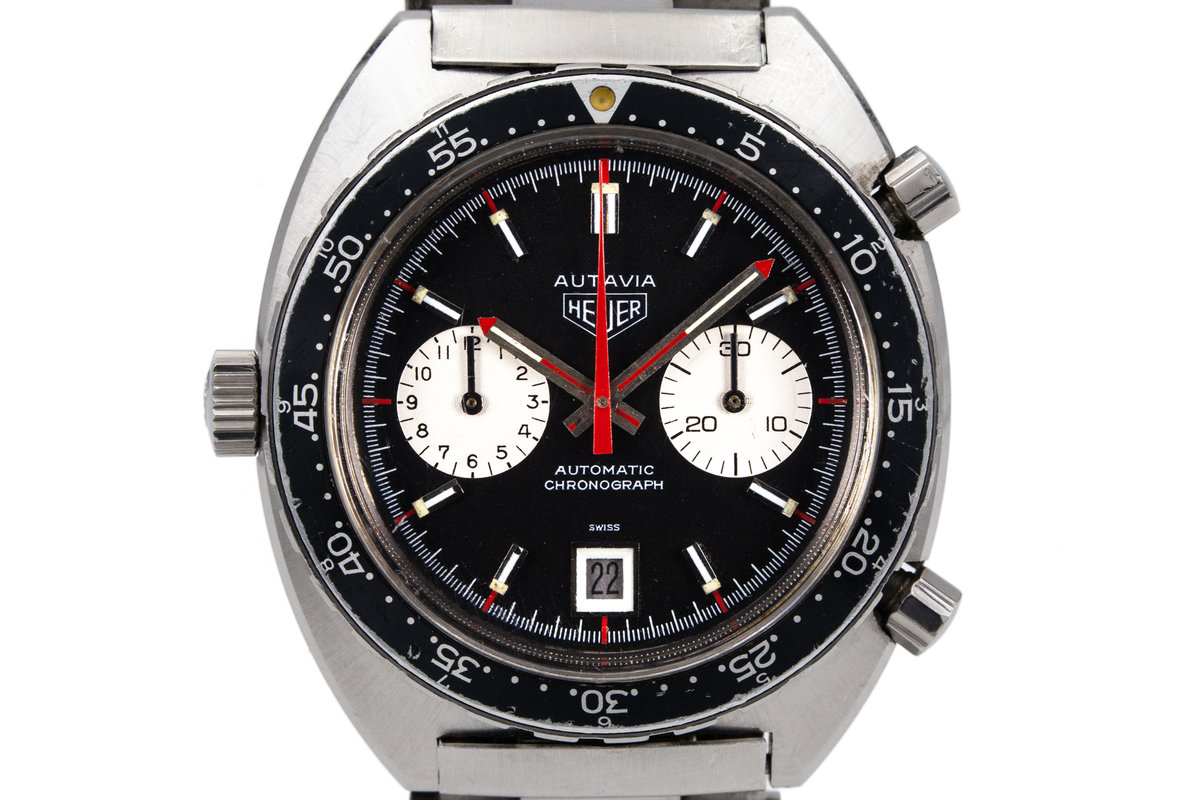 Heuer Autavia 1163 V 'Viceroy' photo, #0