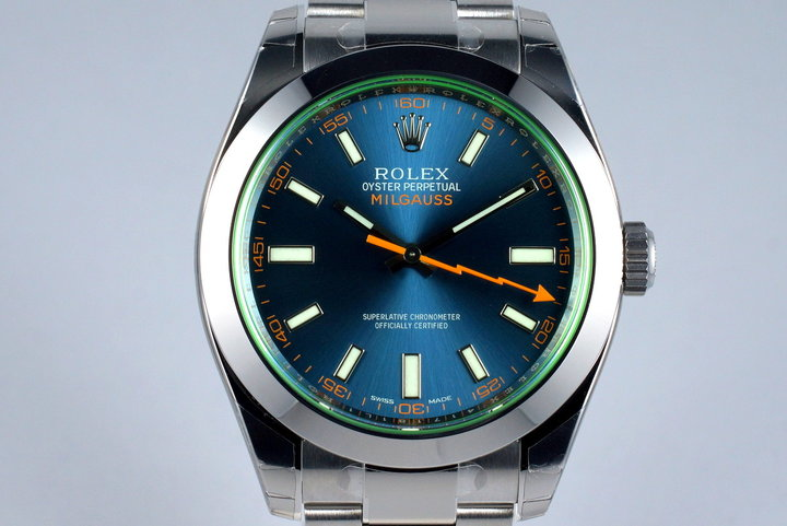 2016 Rolex Milgauss 116400GV with Box and Papers MINT photo