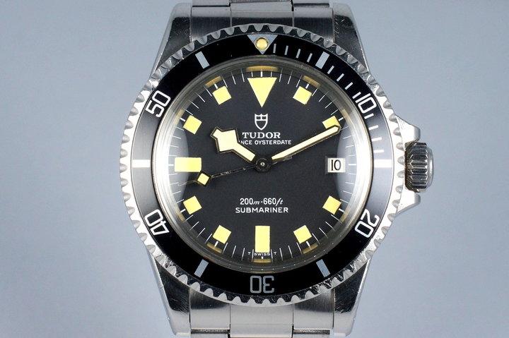 1975 Tudor Black Submariner 9411/0 Snowflake photo