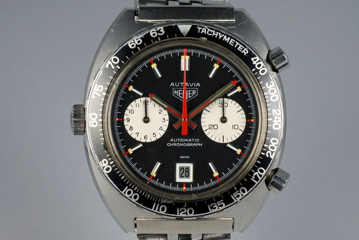 1970's Heuer Autavia 1163 V 'Viceroy' photo