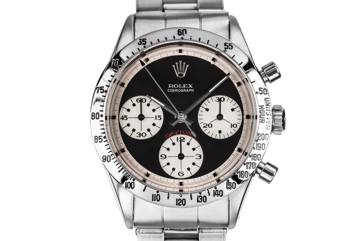 "1968 Rolex Daytona 6239 ""Paul Newman"" with Black Dial and Purchase Papers photo, #0"