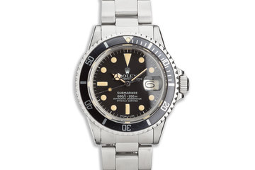 1978 Vintage Rolex Submariner 1680 photo
