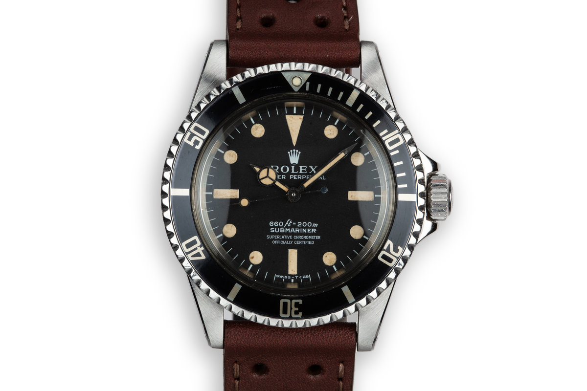 1966 Rolex Submariner 5512 with Serif Dial photo, #0
