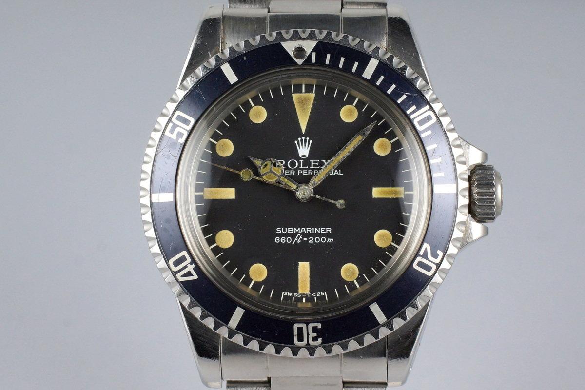 1979 Rolex Submariner 5513 Mark III Maxi Dial photo, #0