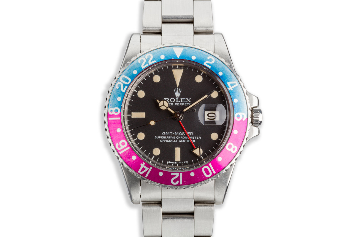 1979 Rolex GMT-Master 1675 with Fuchsia Bezel photo, #0