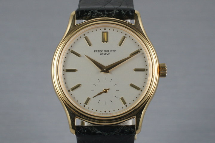 Vintage 18K YG Patek Philippe 3923 photo