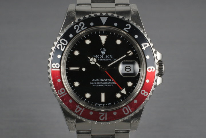 1995 Rolex GMT II 16710 photo