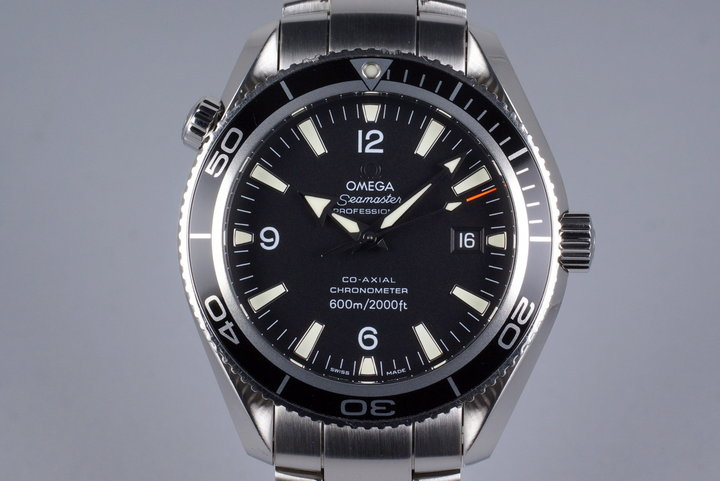 Omega Seamaster Planet Ocean 2201.50 with Box and Papers photo