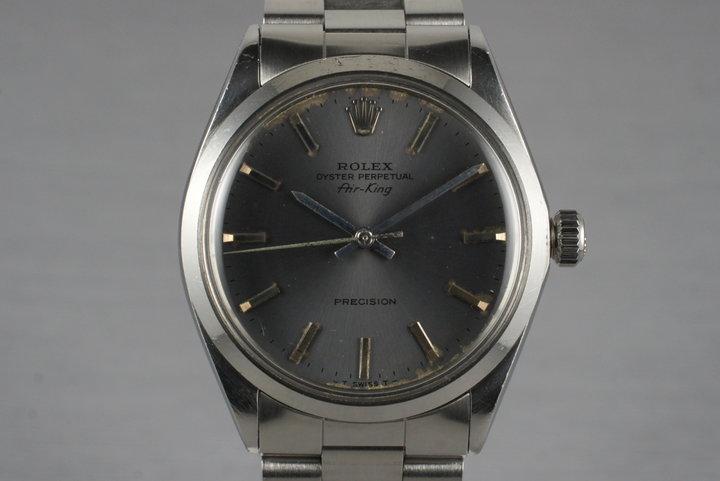 1969 Rolex Air-King 5500 Gray Dial photo