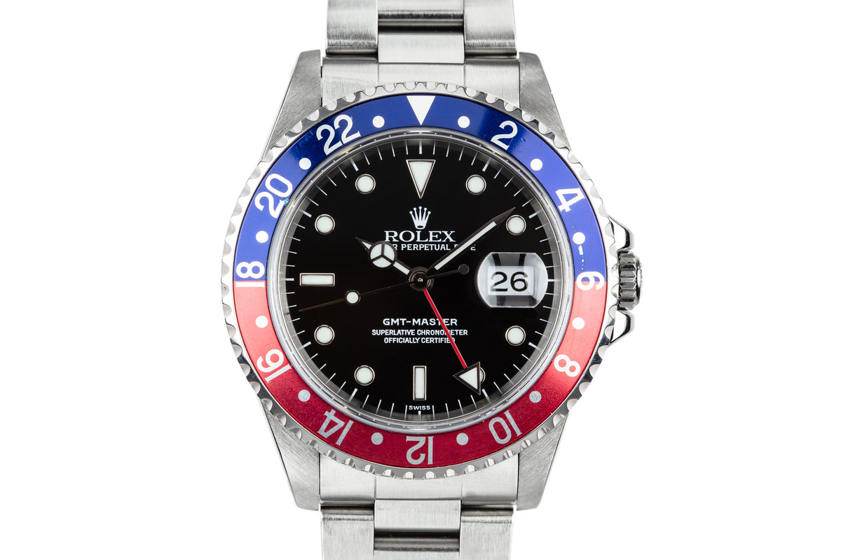 "1999 Rolex GMT-Master 16700 ""Pepsi"" with SWISS Only Dial photo, #0"