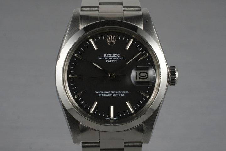 1972 Rolex Date 1500 Black Dial photo