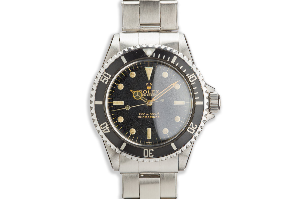 1963 Rolex Submariner 5513 Gilt Underline Dial with PCG photo, #0