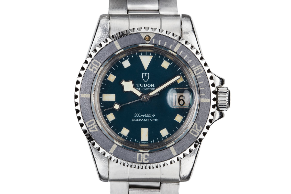 1979 Tudor Blue Submariner Snowflake 94110 photo, #0