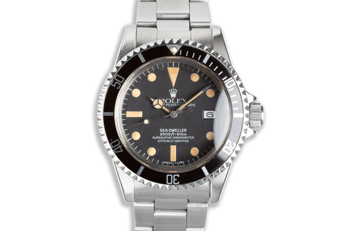 1979 Rolex Sea-Dweller 1665 with Box, Papers, and Wallet photo, #0
