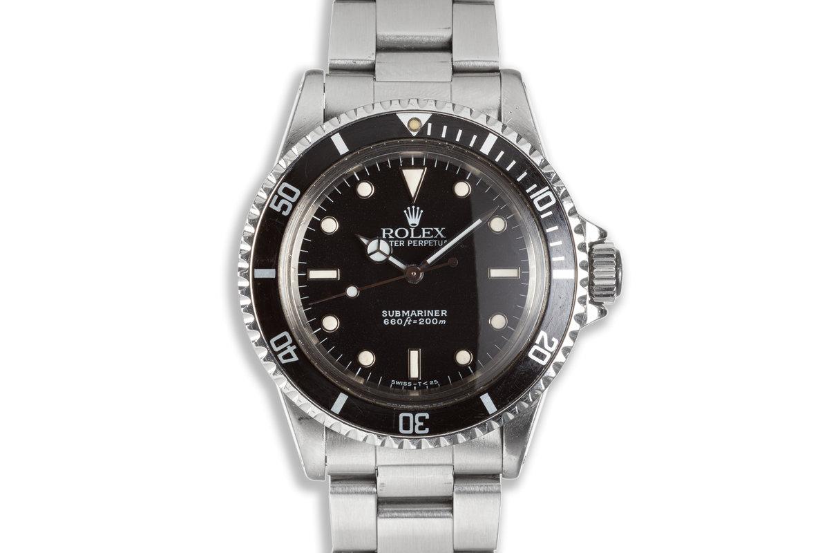 1988 Rolex Submariner 5513 Glossy Dial photo, #0