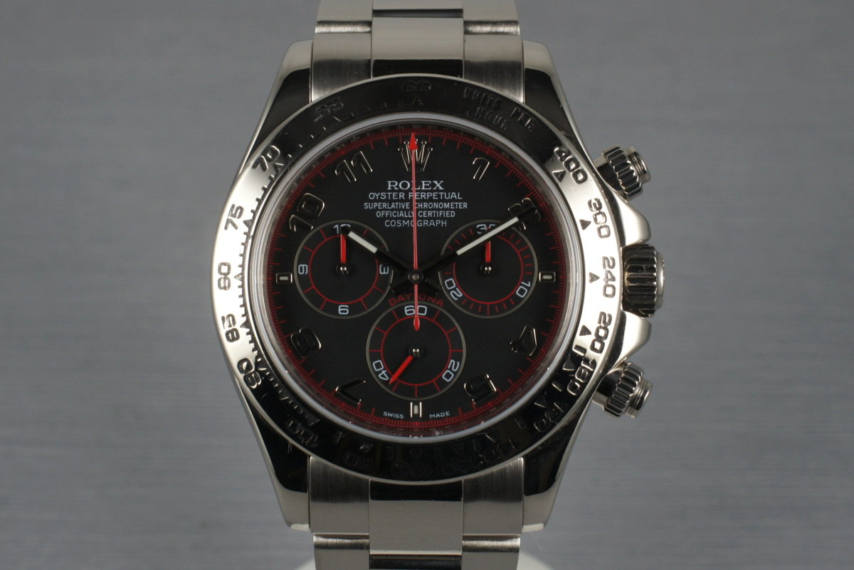 2005 Rolex WG Daytona 116509 with Service Papers photo, #0
