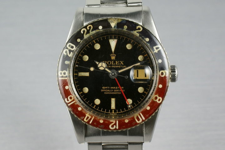 Rolex GMT 6542 with Bakelite insert photo
