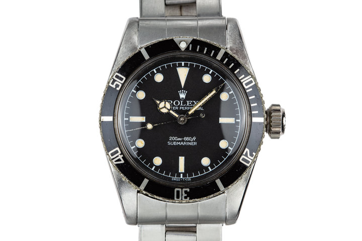 "1958 Rolex Submariner 6538 ""Big Crown"" with Service Dial photo"