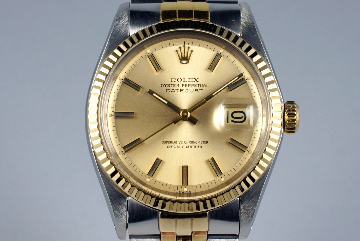 1971 Rolex Two Tone DateJust 1601 photo, #0