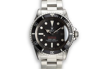 1978 Rolex Double Red Sea-Dweller 1665 with Mark 4 Dial photo