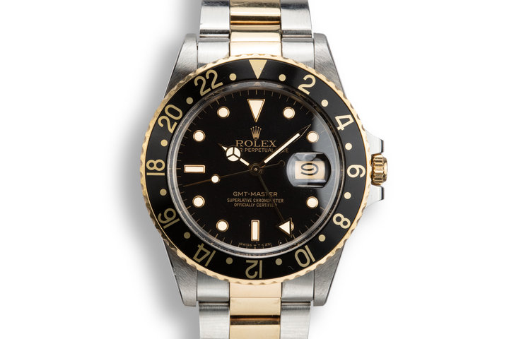 1987 Rolex Two-Tone GMT-Master 16753 photo