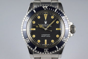 1979 Rolex Submariner 5513 Mark III Maxi Dial photo