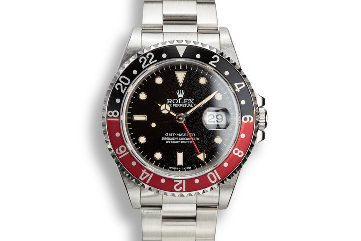 "1995 Rolex GMT-Master 16700 ""Coke"" photo"