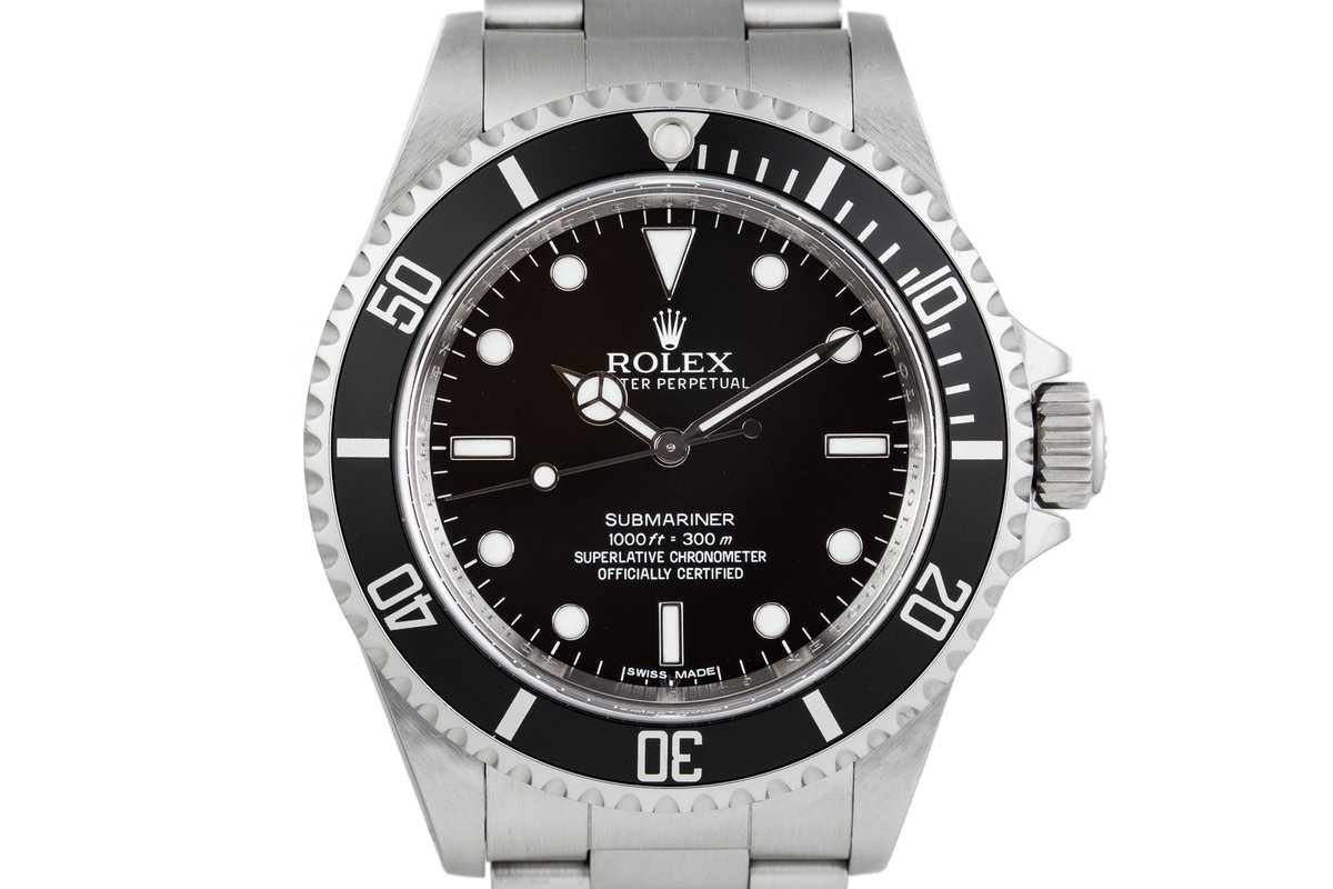 2010 Rolex Submariner 14060m with Box and Papers photo, #0