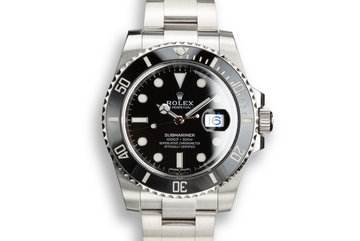 2017 Rolex Submariner 116610 with Box and Papers photo