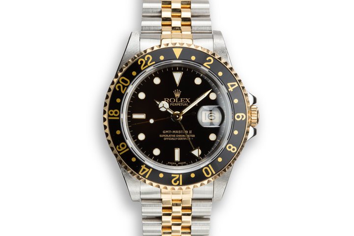 1993 Rolex Two-Tone GMT-Master II 16713 photo