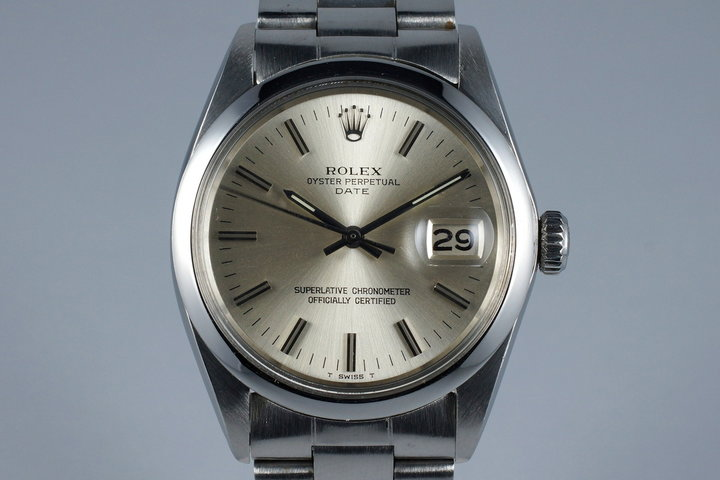 1972 Rolex Date 1500 with Silver Dial photo