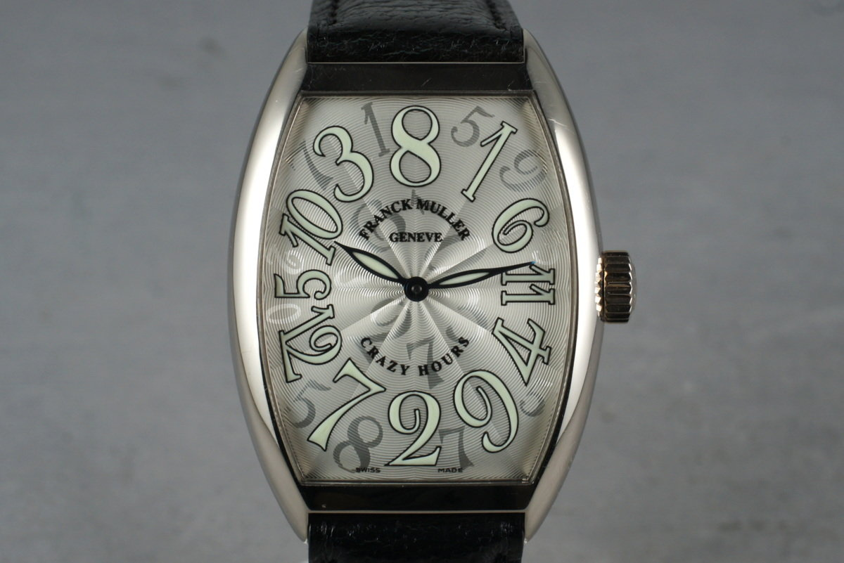 Franck Muller Crazy Hours White Gold 7851CH photo, #0