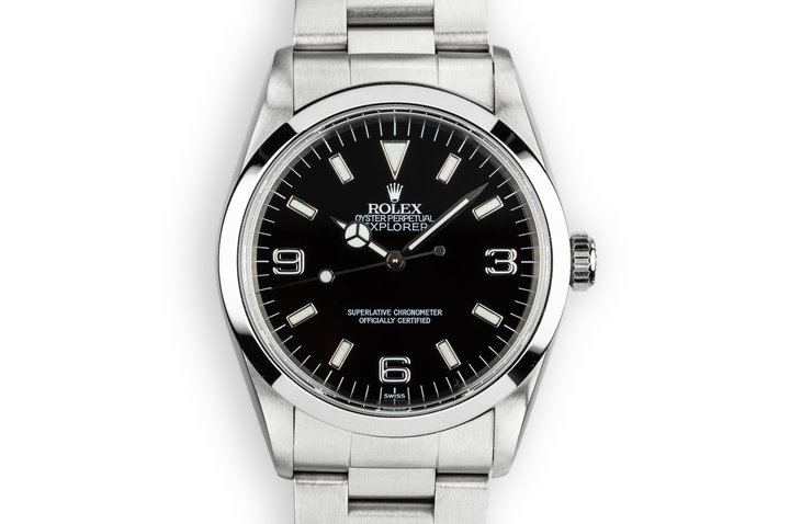 1999 Rolex Explorer 14270 with SWISS Only Dial photo