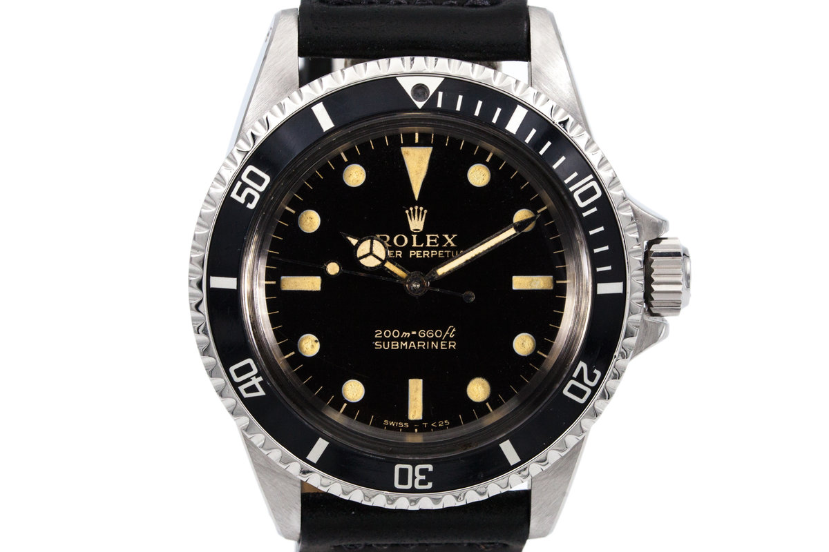 1965 Rolex Submariner 5513 with Gilt Dial photo, #0