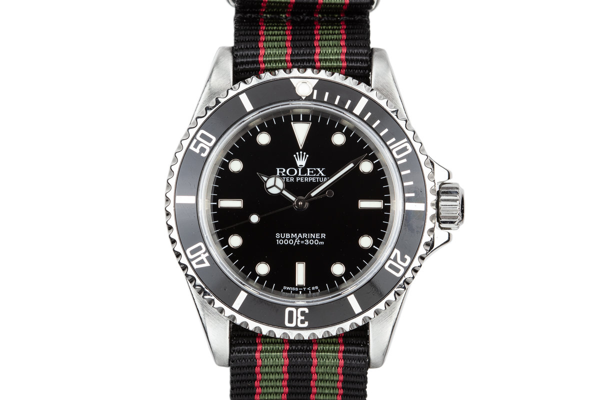 1998 Rolex Submariner 14060 photo, #0