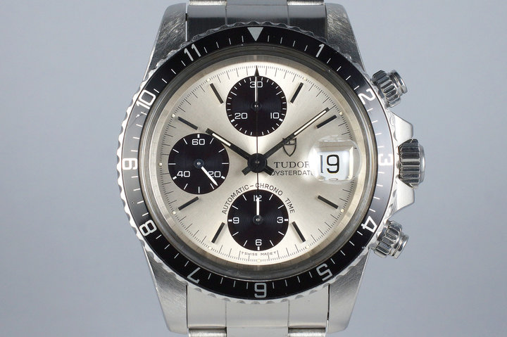 1995 Tudor Chronograph Big Block 79170 Silver Dial photo